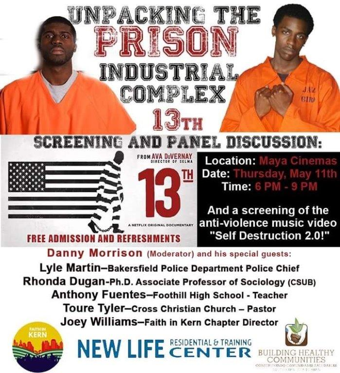 13TH DOCUMENTARY SCREENING FLYER