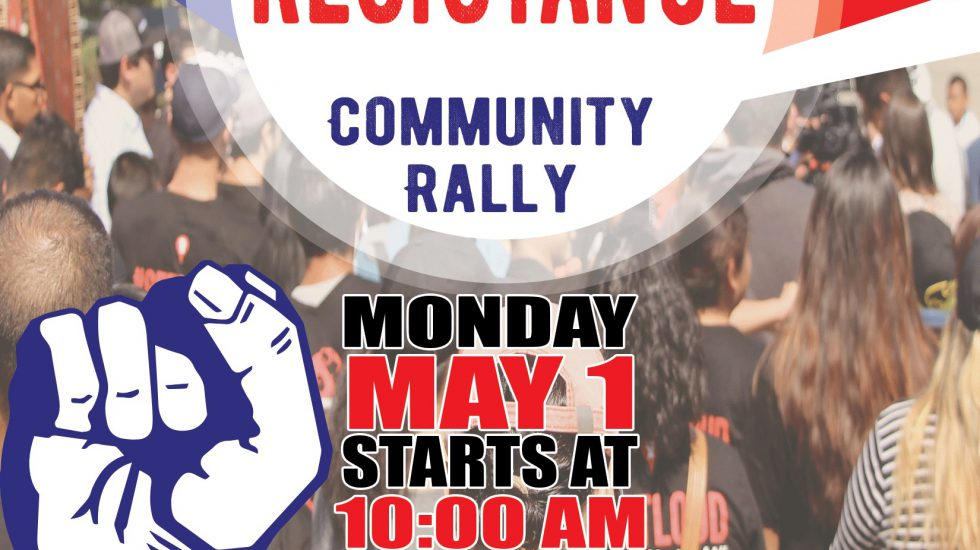 May Day Resistance March & Rally, May 1